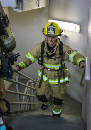 JAX Fight for Air Climb Firefighter participants